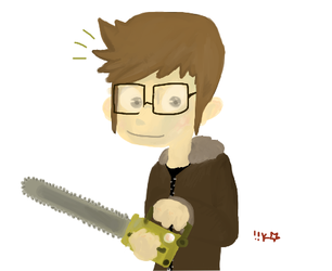 tiny chainsaws by ShojiHERO