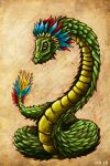 Quetzal Dragon by hawanja
