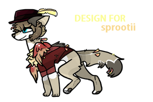 Design for sprootii by silly-sweetness