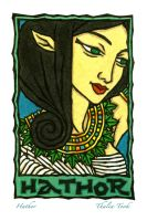 Hathor by ThaliaTook
