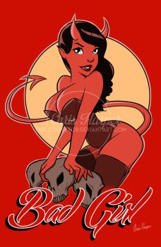 Devil Girl PinUp by TheCosbinator