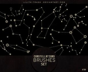 Constellations Brushes #30 by LilithDemoness