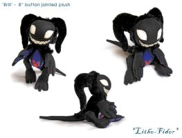 Jointed Plush Imp 'Brill' by Lithe-Fider