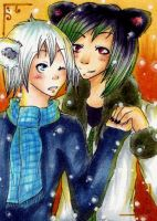 ACEO 97 Hey Baby by ChemicalIceTea