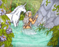 Fairy Water by RiehlART