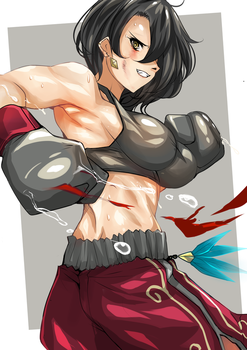 BoxingCinder by Nonoririn