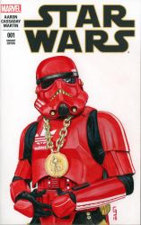 Hip Hop Trooper Sketch Cover by Geekincognito