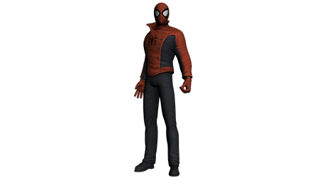 Spider-Man Edge of Time - Suit Last Stand by LaxXter