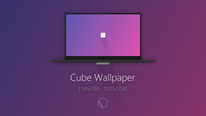 Cube Wallpaper by TheButterCat