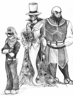 The Other Three by LittleSakis-Aubade