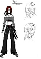 Concept Sheet - Sin by sindra