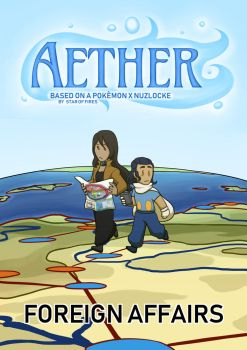 AETHER - Chapter 1 Cover by Star-of-Fire