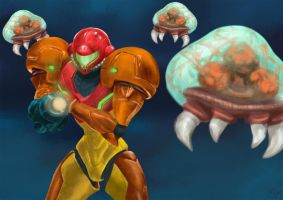 Metroid by scmscmscm09