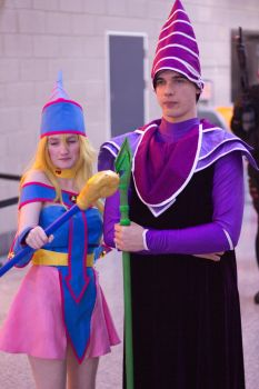 Dark Magician and - Girl MCM London by Kant-Predict