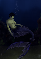 Free! Merman Haruka by Cloud-Purple