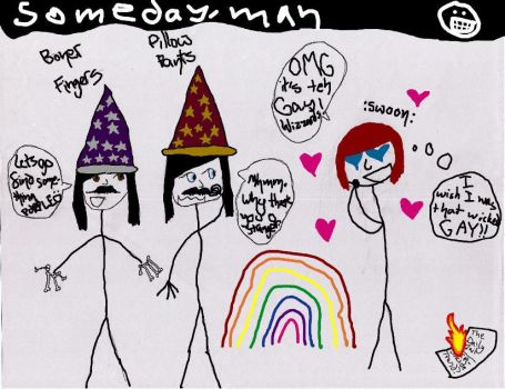 The Gay Wizzards :D by 09ShootIt09