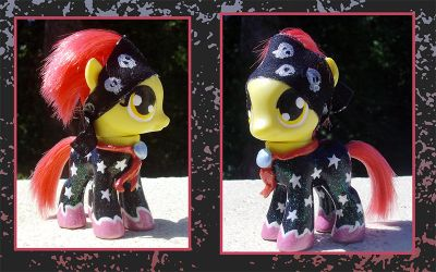 My Little Pony Custom - Applebloom by kaizerin