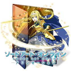 Sword Art Online - Alicization Folder Icon by Kiddblaster
