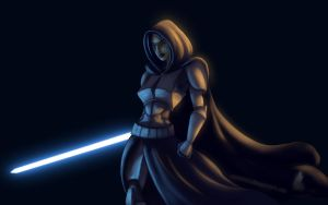 Commander Barriss Offee by RaikohIllust