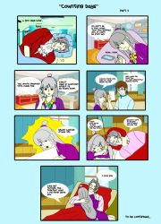 Counting Days comic - part 3 by allamandaphotography