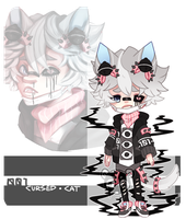 Cursed Cat - auction - [ closed ] by ButterflyBandit