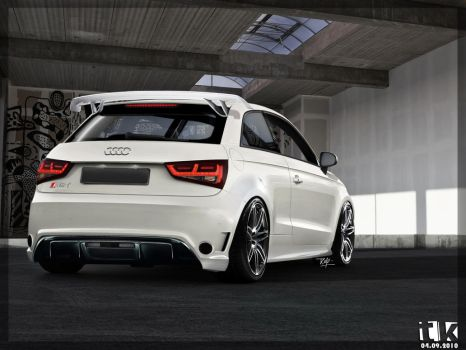 Audi RS1 Rear View by TKtuning