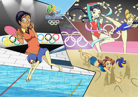 CE- Olympic W.i.t.c.h by BiPinkBunny