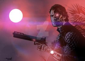 FarCry3 BloodDragon Sketch by JonasScharf