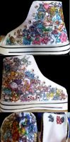 Original 151 Pokemon Shoes by Misakochan