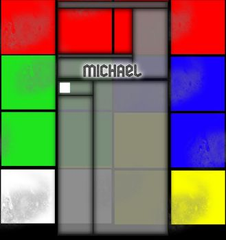 Michael YT Background Rubix by TheDrifterz