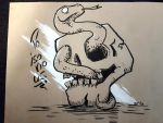 POISONOUS Inktober 2018 by DanFromBavaria