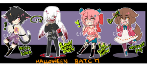 [CLOSED ] Halloween Batch ! by sayremin