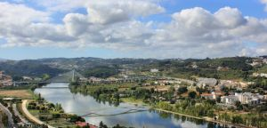 Coimbra By The Mondego River by Tigles1Artistry