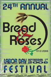 Bread And Roses Flyer 2009 by angelralba