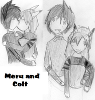 Meru + Colt by Eaglefoot