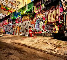 Street Wall by The-Gill
