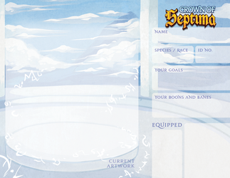 Crown of Septima: Summons Template by ArchivesofSeptima