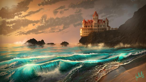 Cliff House by chateaugrief