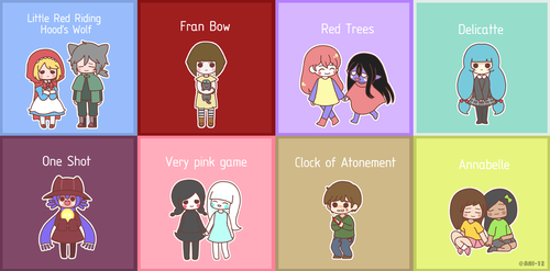 Horror Games? 10 by Ani-12
