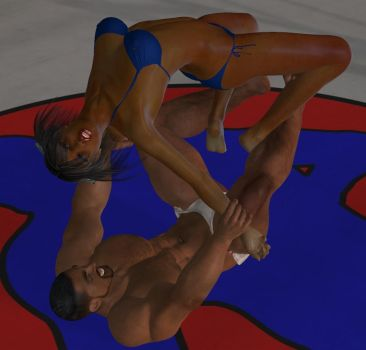 Mixed wrestling match 79 Romero or surfboard by cattle6