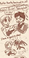 Better than the trench coat trick? by DoomGirlMeg
