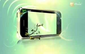iphone by Punkgraphics