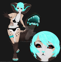 Yua In IMVU by SimpleCollection