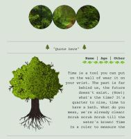 Tree/forest custombox by My-test-accountt