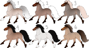 *CLOSED* NK ponies for sale by Wouv