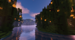 Minecraft: Islands of Magic Forest by Neutral-Dreamer