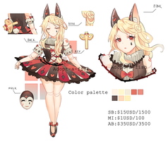 [CLOSED] Doll Ballerina Pierrot by Adopt-A-Fish