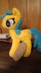 MLP plushie Raindrops by elfy016