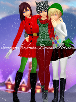 {MMD XMAS GIFT DL: KNX} MERRY CHRISTMAS! :2015: by MariCorsair