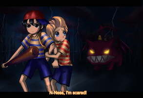 Ness, I'm scared by kaiser-mony
